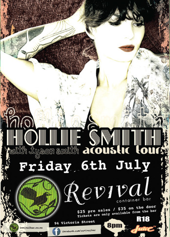 Revival Bar Hollie Smith 2012
