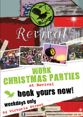 Revival Bar Xmas 2012
