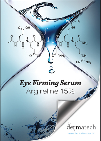 Poster design for Argireline Serum